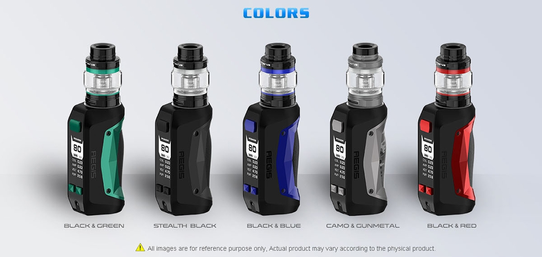 Geekvape Aegis Mini Kit Colors
