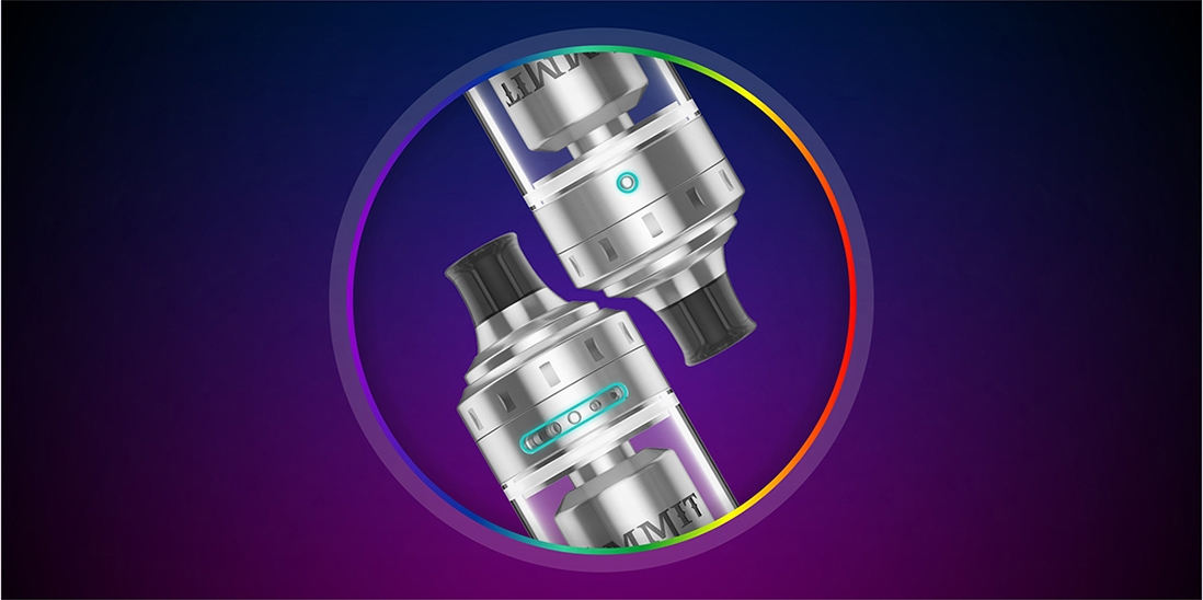 Geekvape Ammit MTL RTA Airflow Adjustment Options