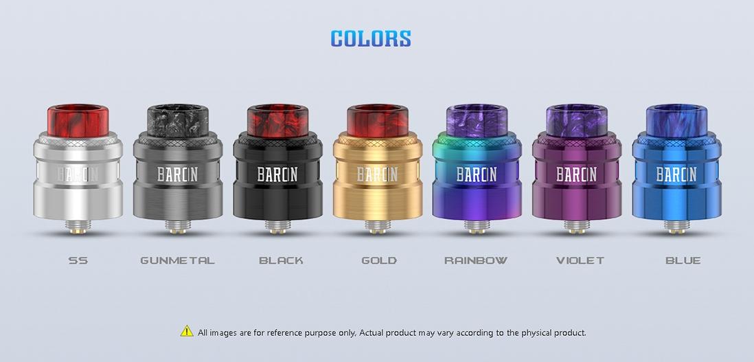 Geekvape Baron RDA Color