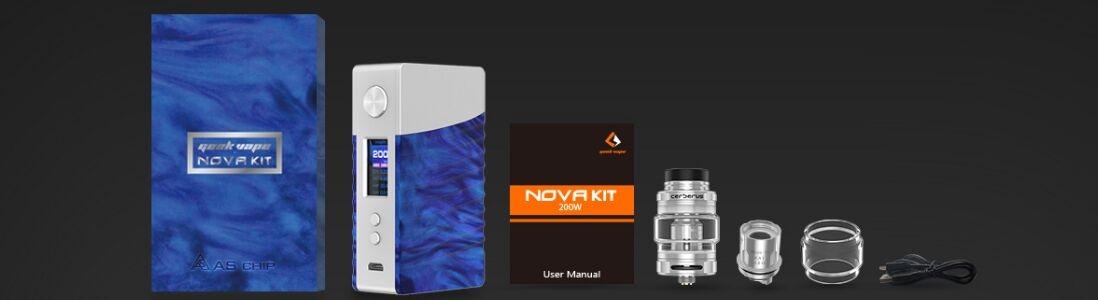 Geekvape Nova Kit package