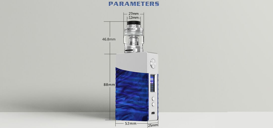 Geekvape Nova Kit parameters
