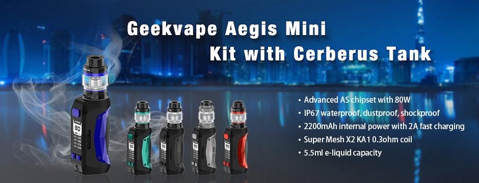 Geekvape Aegis Mini Kit with Cerberus Tank