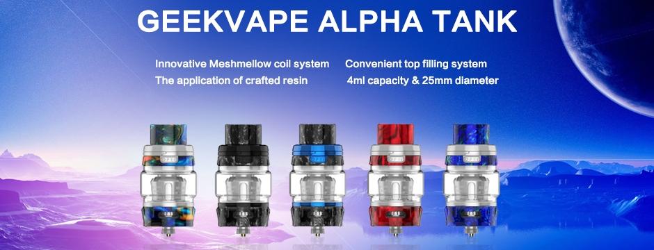 Geekvape Alpha Tank 4ml