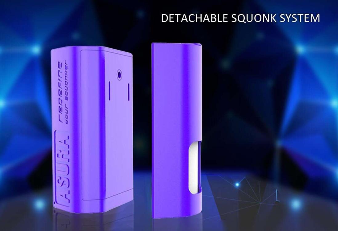 Hugo Vapor Asura 228W 2-in-1 TC Box & Squonk Mod Squonk System