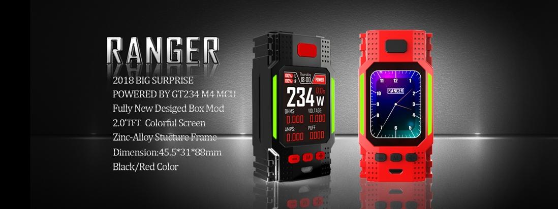 Hugo Vapor RANGER GT234 Mod