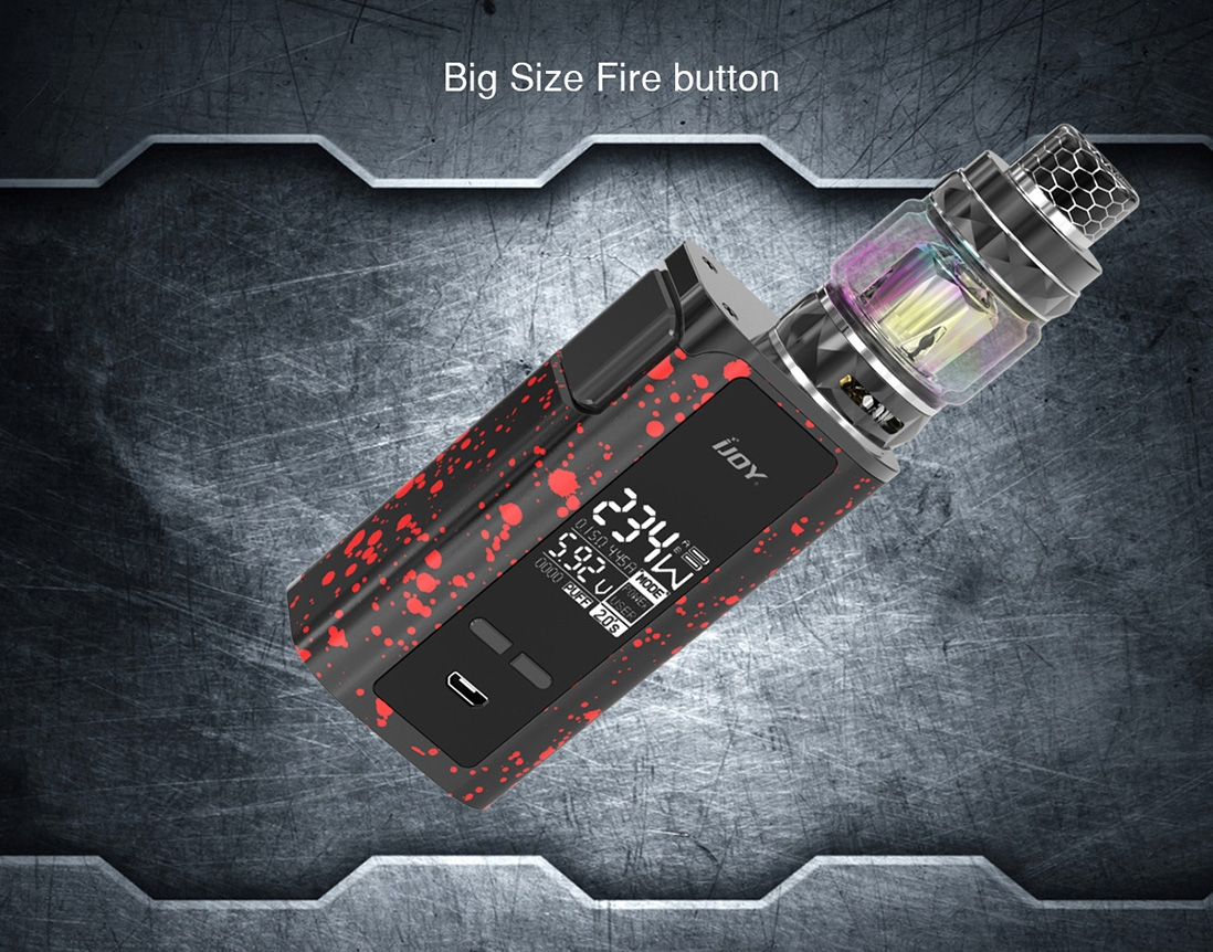 IJOY Captain New Kit Button