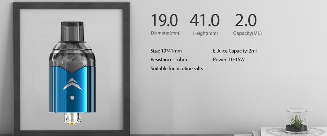 IJOY Diamond VPC Kit parameters 2