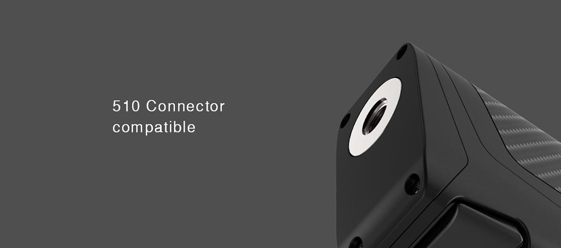 IJOY Elite Mini Kit Features 510 connector compatible