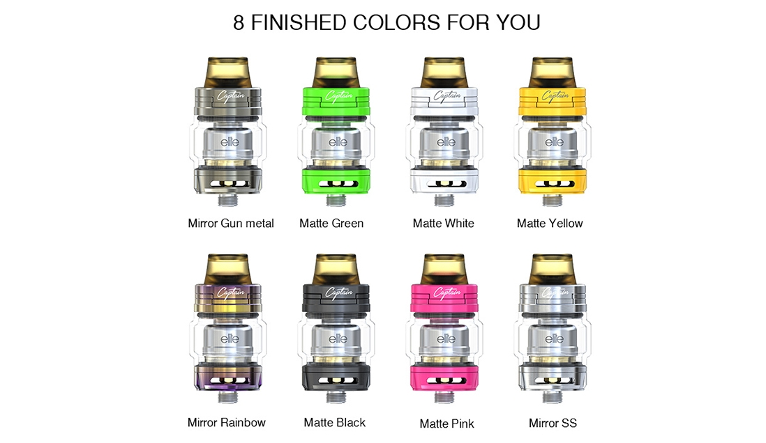 IJOY Elite Mini Kit Vape Tank Colors