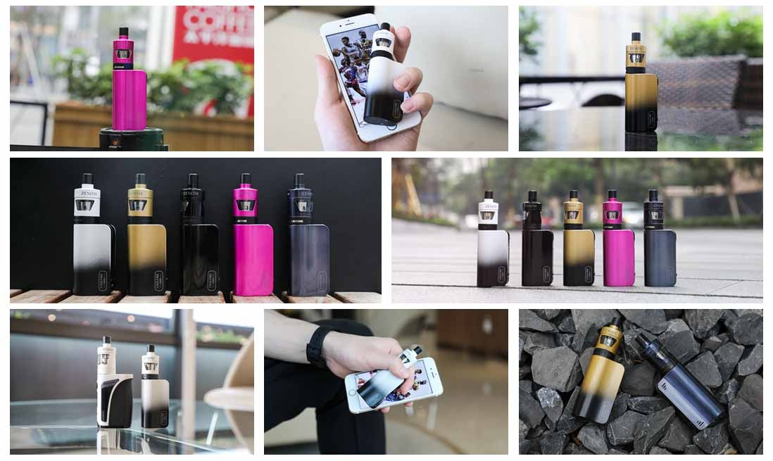 Innokin CoolFire Mini Zenith D22 Kit Real Shot