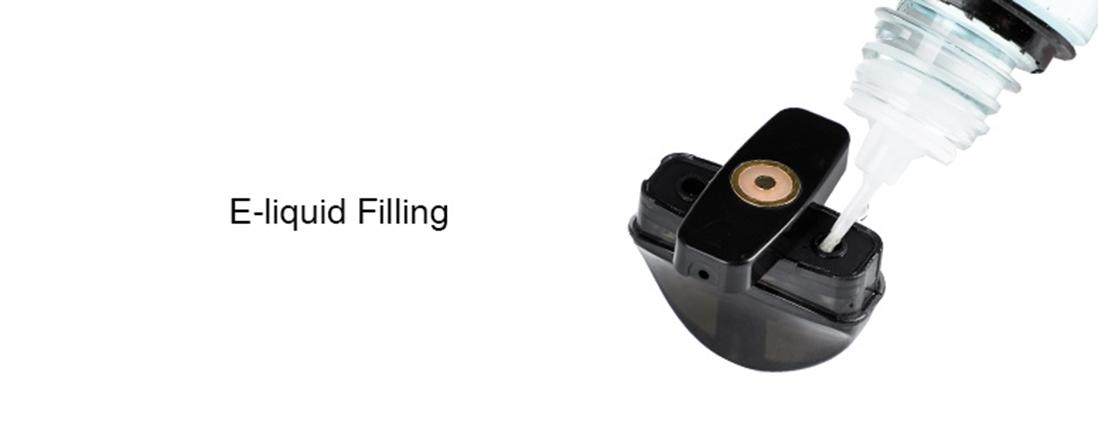 Innokin EQ Pod Cartridge Filling