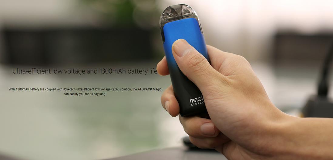 Joyetech ATOPACK Magic Battery Life