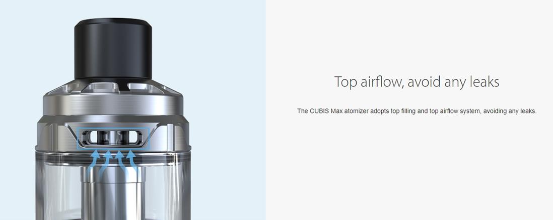Joyetech CUBIS Max Atomizer Top Filling Top Airflow System
