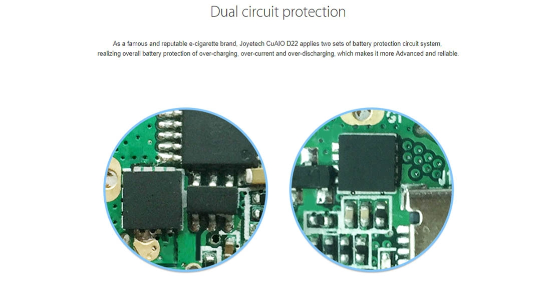 Joyetech CuAIO D22 Kit Protection