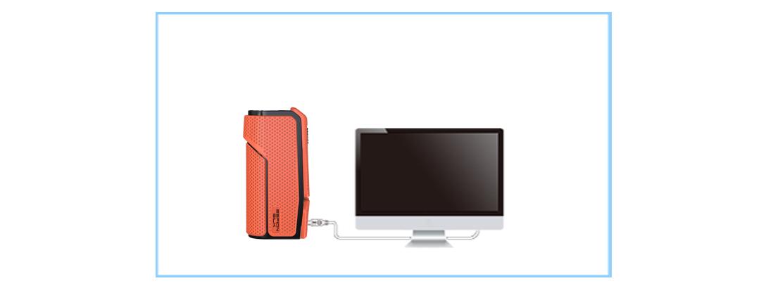 Joyetech ESPION Silk Mod charging