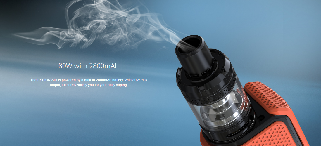 Joyetech ESPION Silk Kit features 1