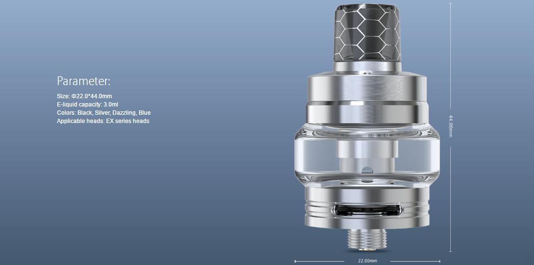 Joyetech EXCEED Air Plus Atomizer paramters