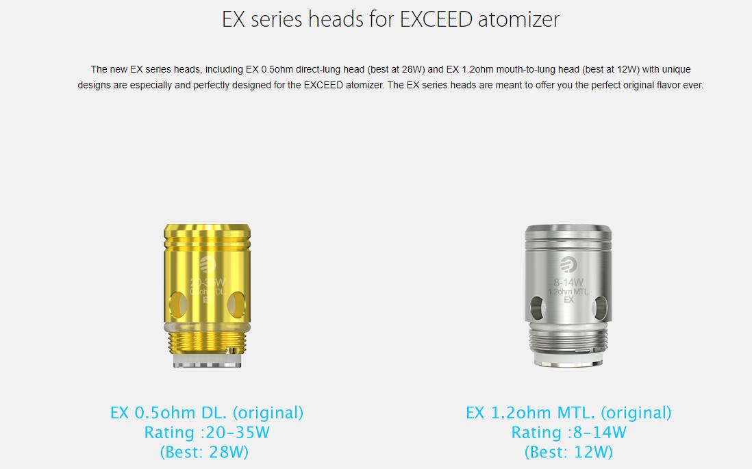 Joyetech EXCEED D19 Atomizer Coil Head