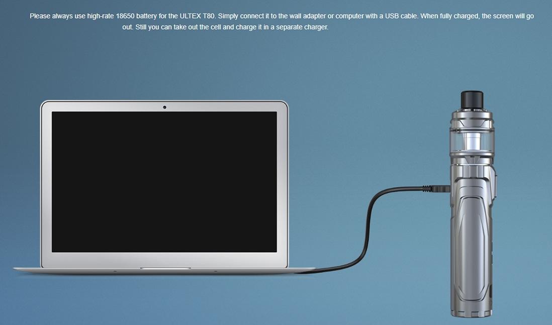 Joyetech ULTEX T80 Charging