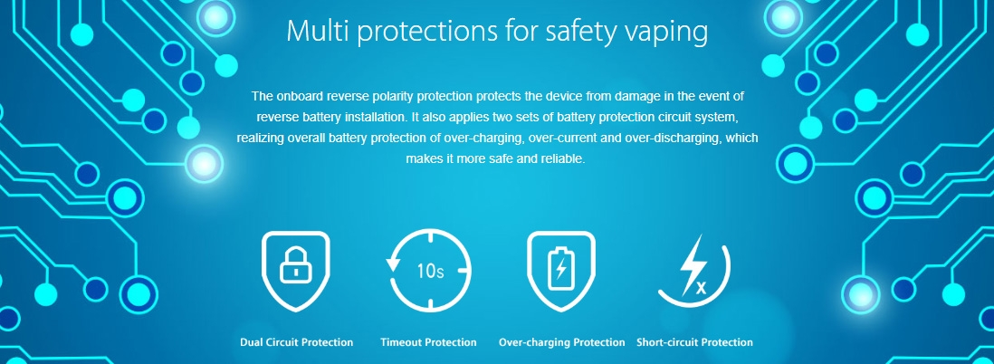Joyetech ULTEX T80 Multiple Protections
