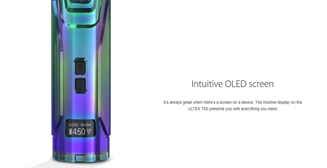 Joyetech ULTEX T80 OLED Screen