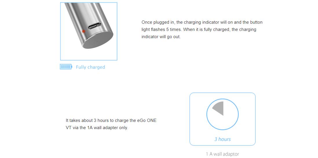 How to Charge Joyetech eGo One VT Kit