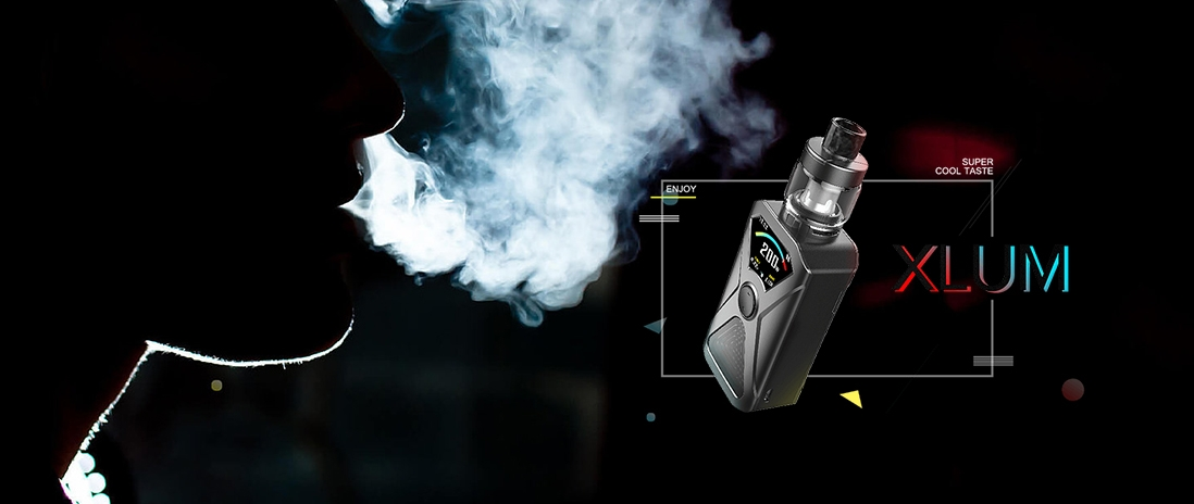 Kanger XLUM Kit Features Super Cool Tast