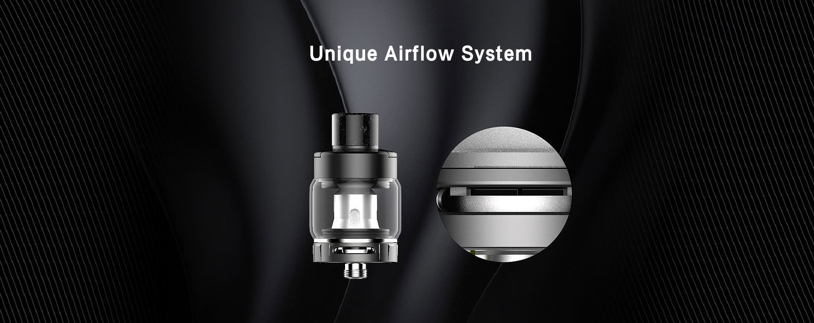 Kanger XLUM Kit Features Unique airflow system