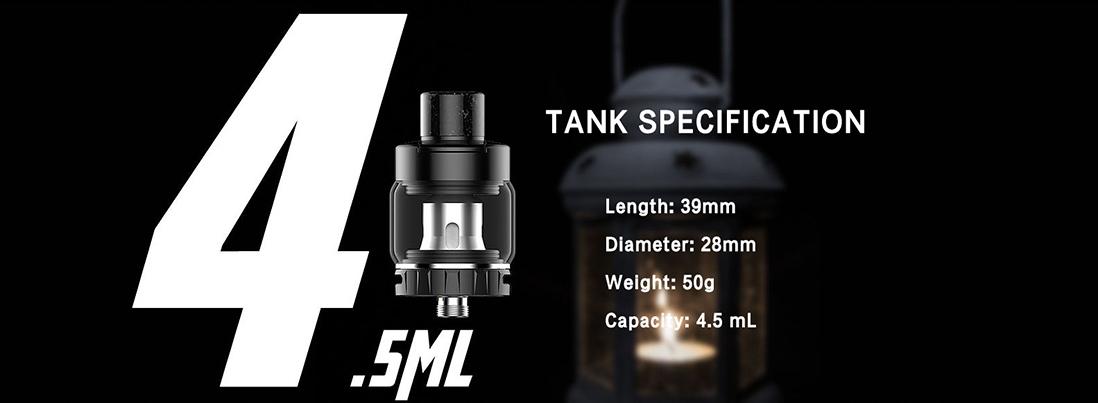 Kanger XLUM Tank parameters