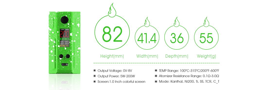 Laisimo Spring E3-3 Mod Parameter