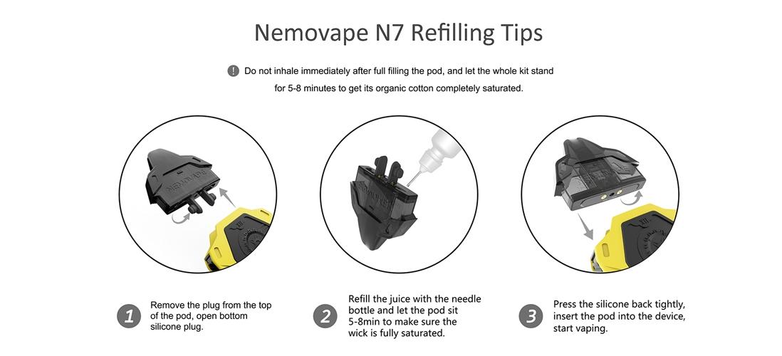 Nemovape N7 Pod Starter Kit 5