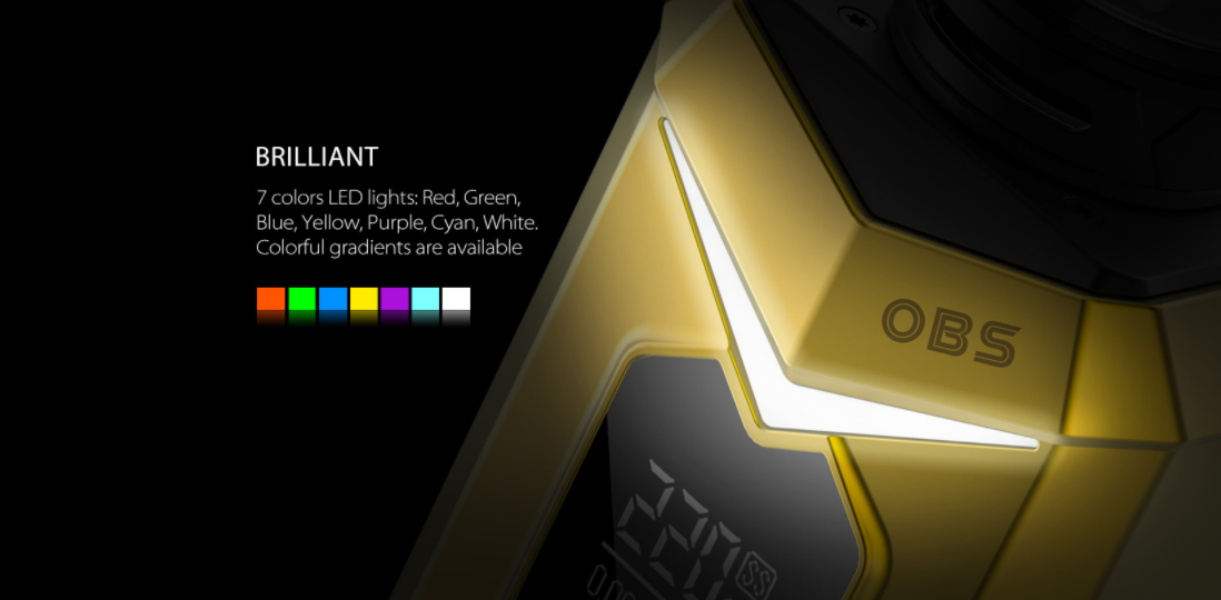 OBS BAT 218W Mod LED lights