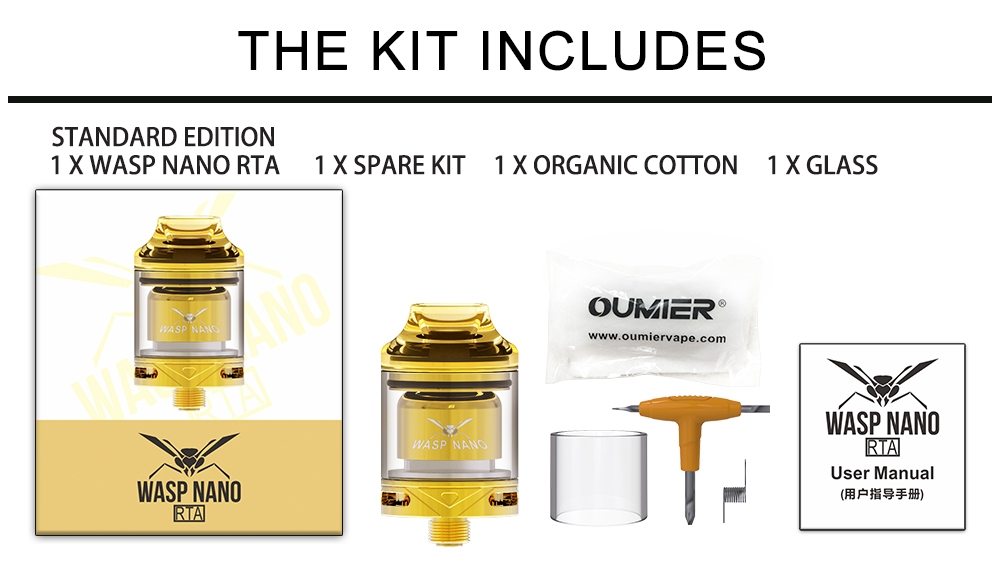 Oumier Wasp Nano RTA Package