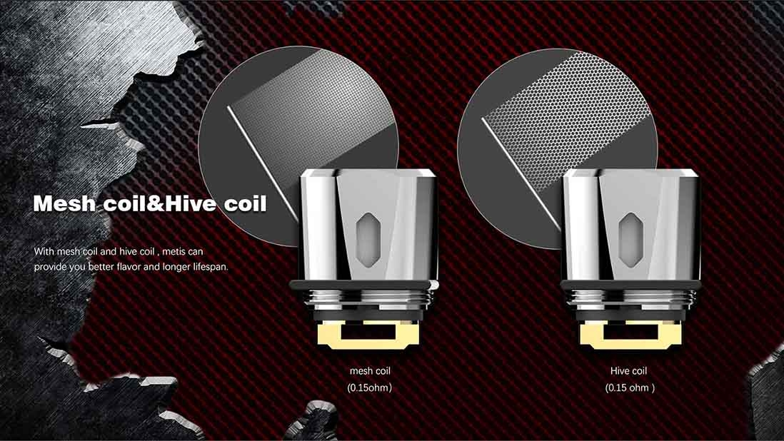 Rincoe Manto 228W TC Kit Mesh Coil & Hive Coil