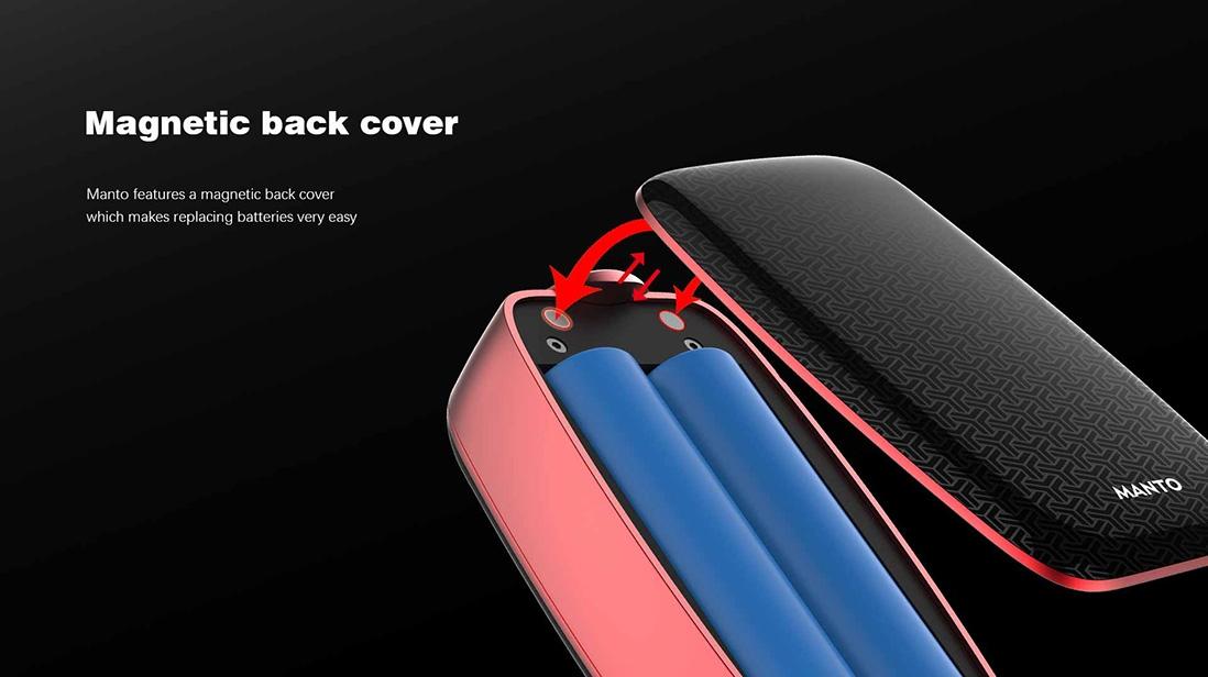 Rincoe Manto 228W TC Mod Magnetic Back Cover