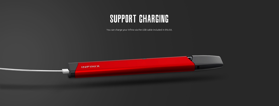 How to recharge SMOK INFINIX Kit