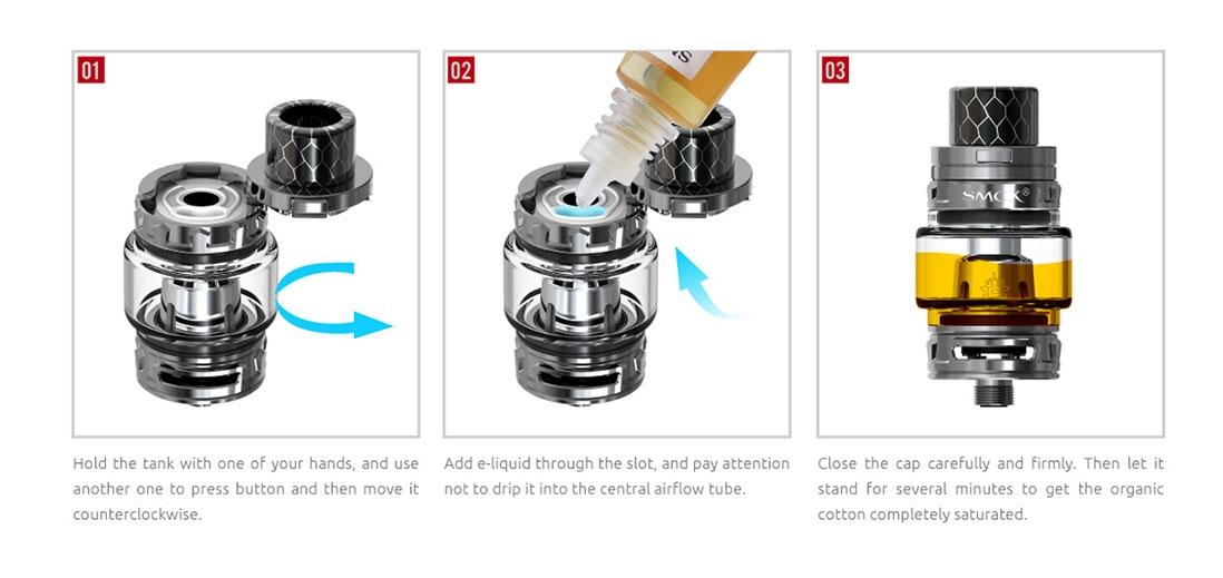 Featrues Top Refill System Design