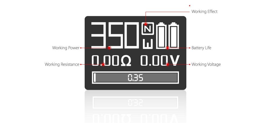 SMOK GX350 Mod 2