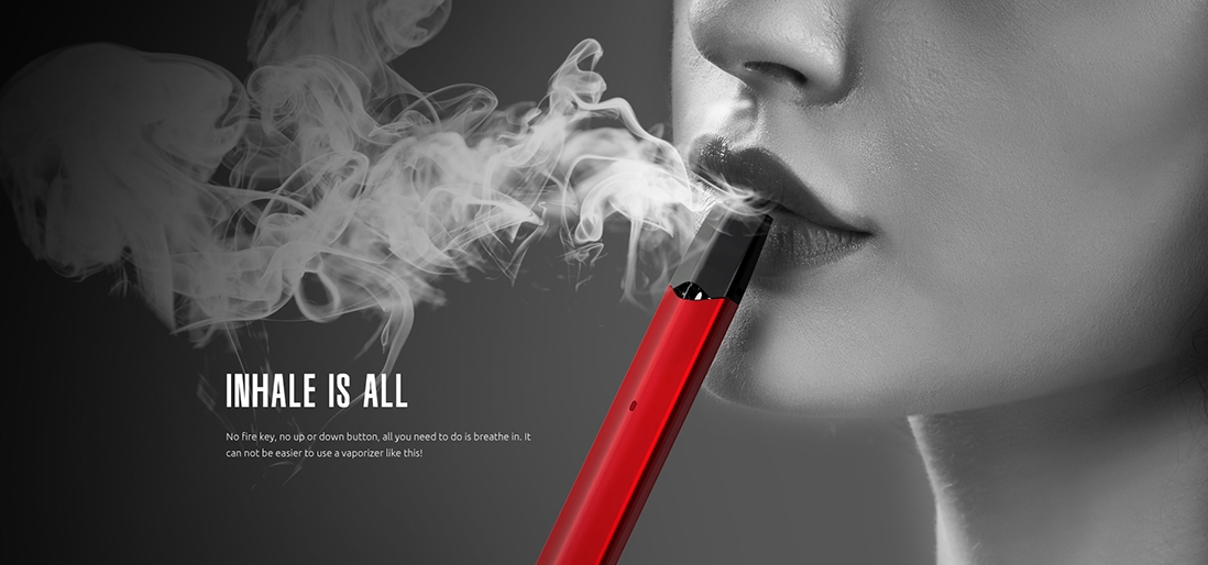 Infinix starter kit Features easy way for vaping just breather in