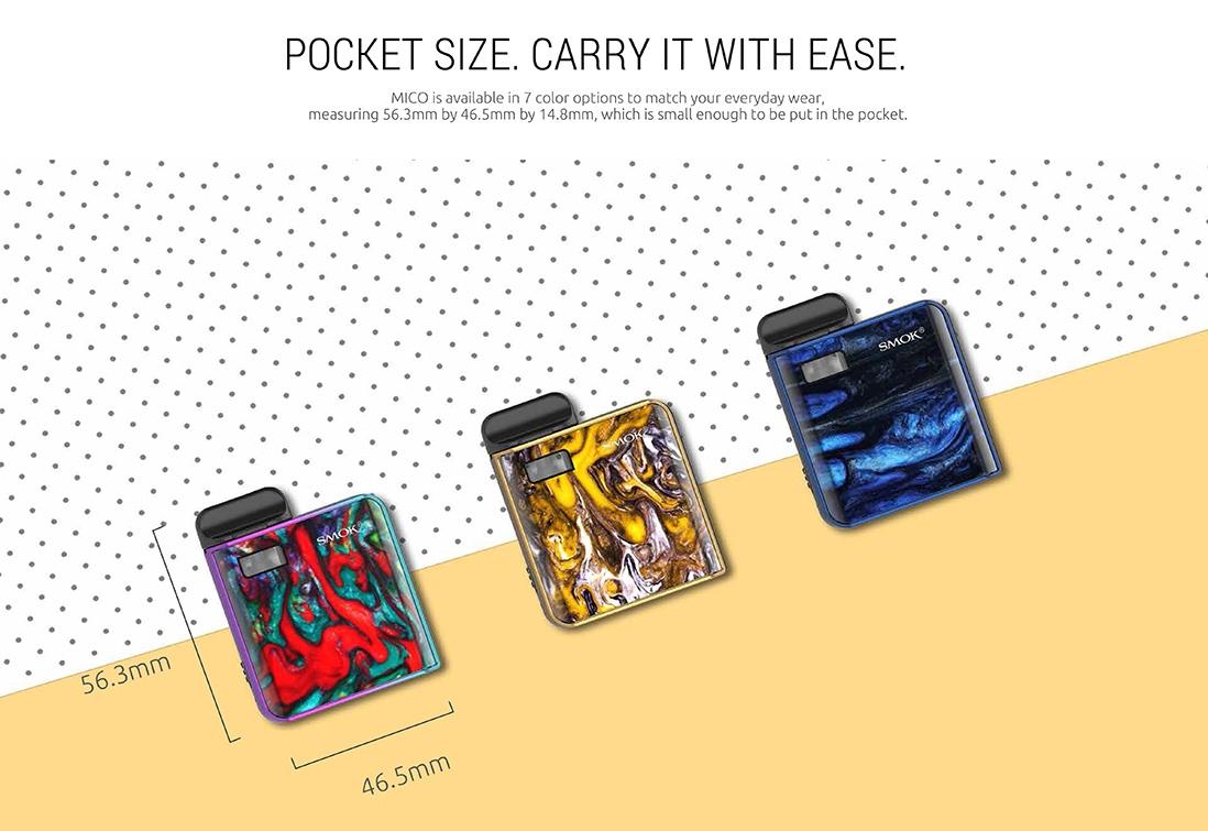 SMOK MICO Kit Size
