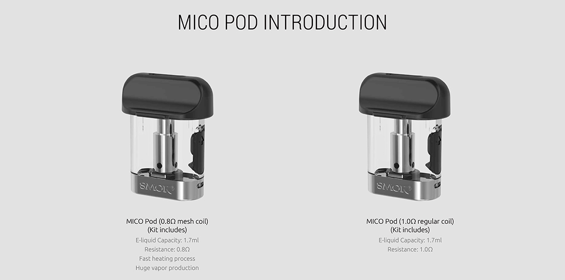 SMOK MICO Pod Cartridge