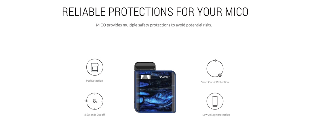 SMOK MICO Protections