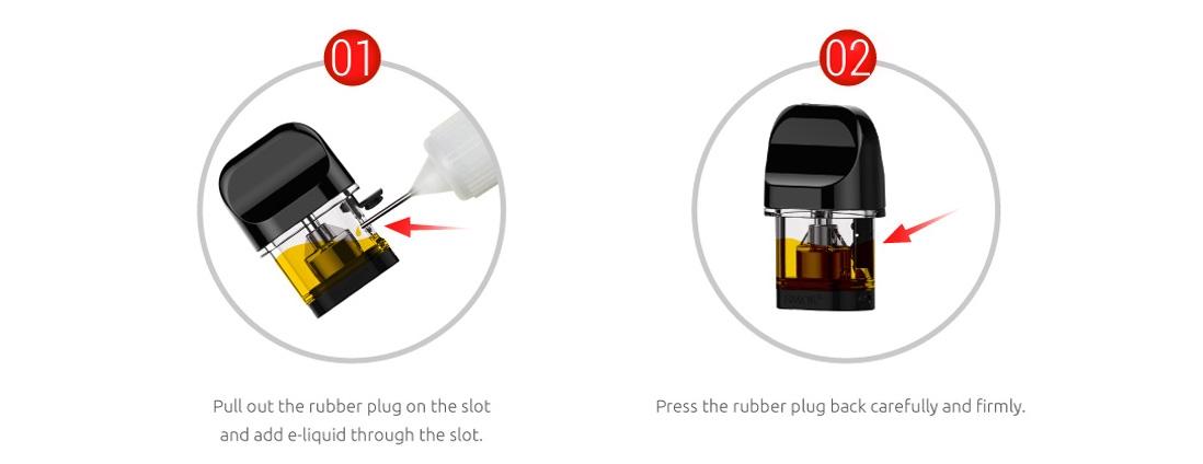 SMOK Novo Pod Cartridge Filling