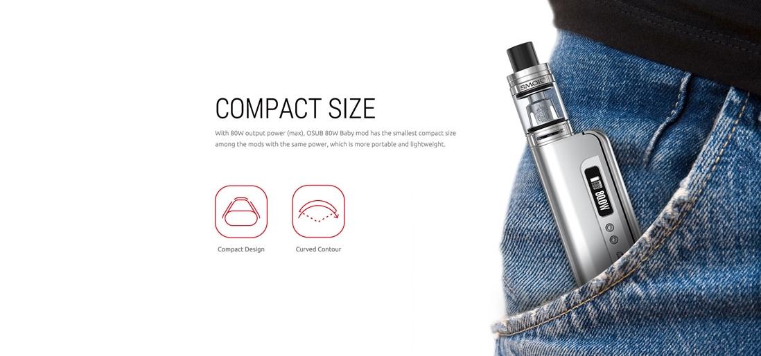 SMOK Osub 80W Baby Kit 1