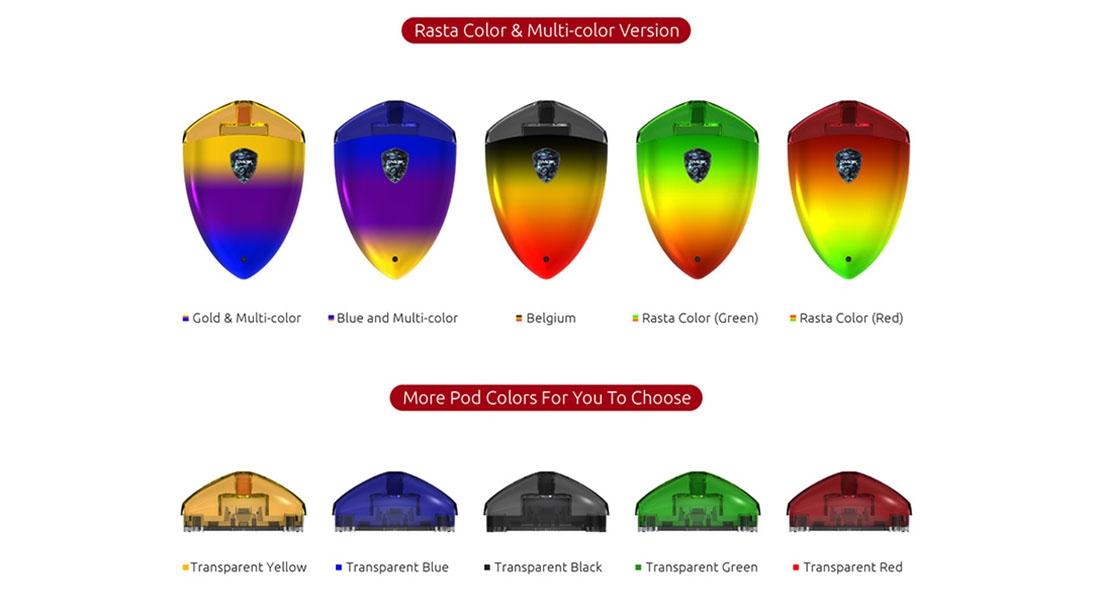 SMOK ROLO Badge kit colors