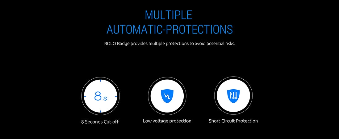 ROLO Bage provides multiple protections to avoid potential risks