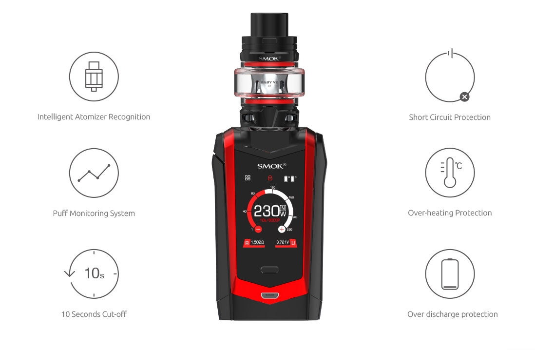 SMOK Species Kit Features 5