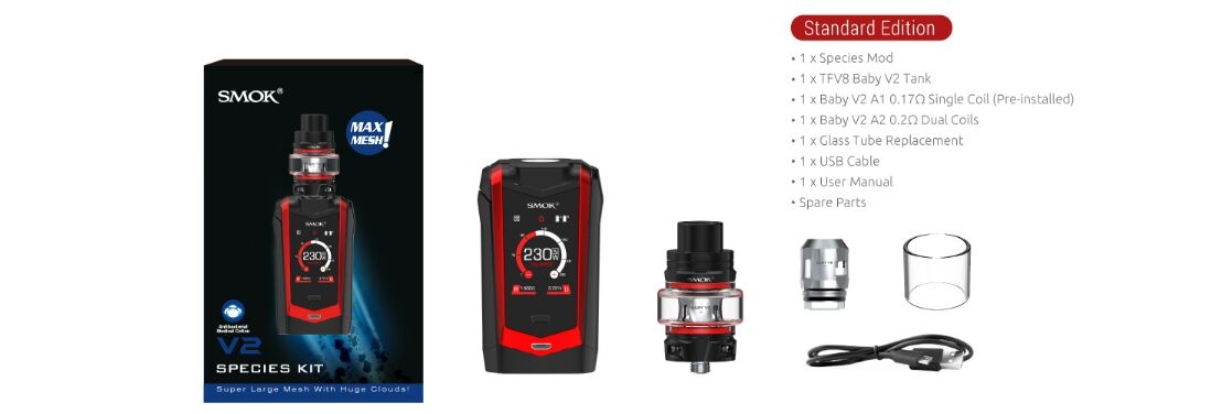SMOK Species Kit Package