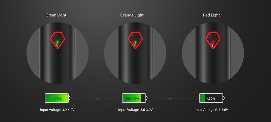 SMOK Stick V9 Max Kit LED Indicator