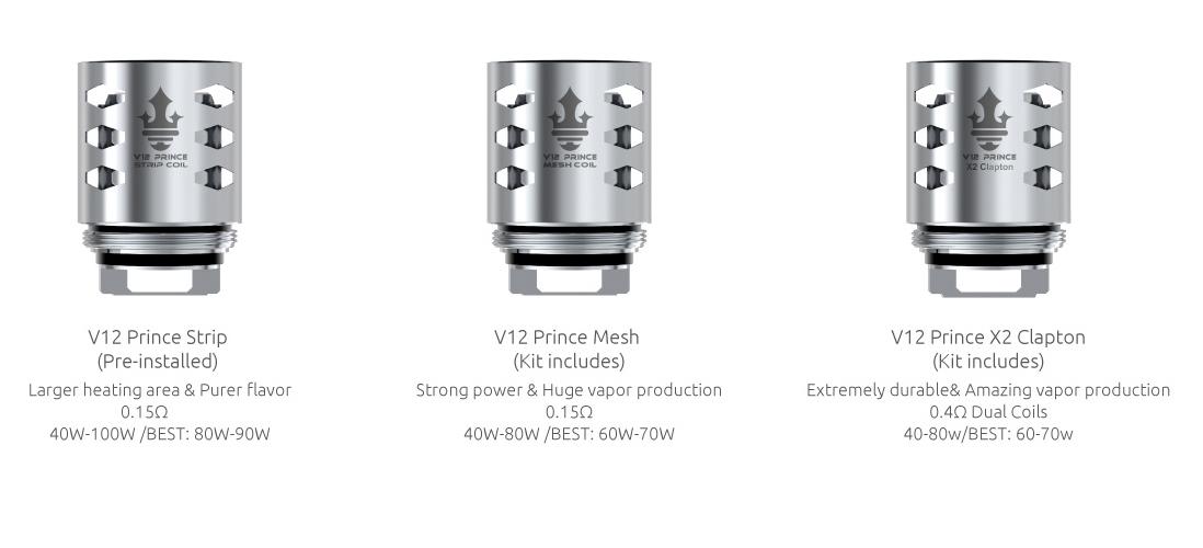 SMOK TFV12 Prince Cobra Edition Tank Features 5_2